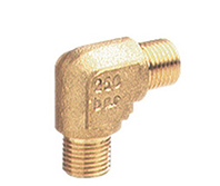 Brass Elbow 3/8M 1/4M