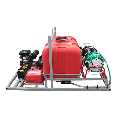 Skid Mounted Drain Cleaning Machine