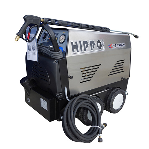 Hippo Hot Water Pressure Washer 3 Phase 2910 psi