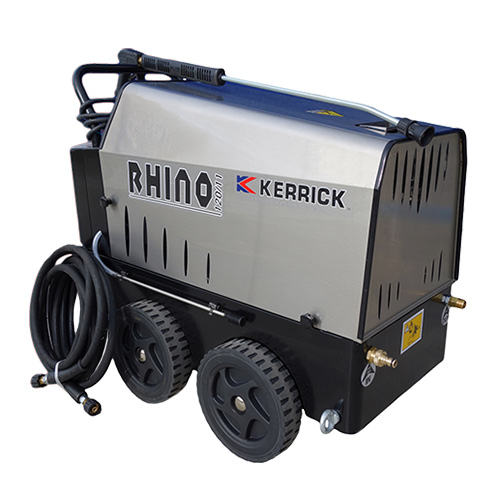 Rhino Hot Water Pressure Cleaner Single Phase 1750 psi