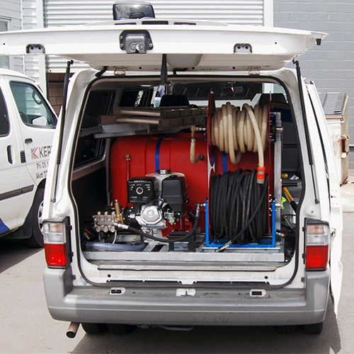 Van Mounted Pressure Washer