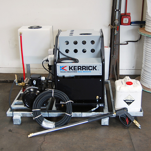 Hot Water Pressure Washer for Sanitization